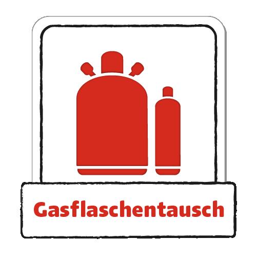 Gasflaschentausch