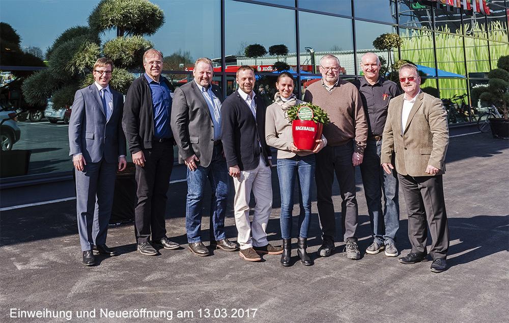 Teambild Hagebaumarkt Neueröffnung